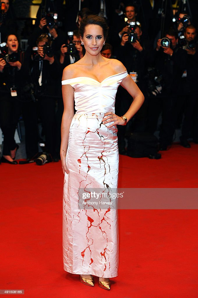 Louise Roe attends 'Captives' Premiere at the 67th Annual Cannes Film Festival on May 16 2014 in Cannes France