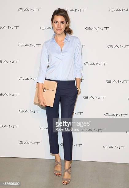 Louise Roe attends House of Gant Presentation during Spring 2016 New York Fashion Week on September 10 2015 in New York City