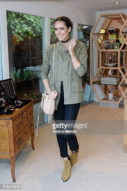 Louise Roe attends Imagine Vince Camuto Launch Event at the Home of The A ListÕs Ashlee Margolis on March 31 2016 in Beverly Hills California