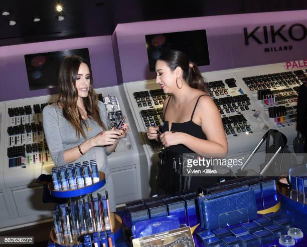 Louise Roe attends Louise Roe For Kiko Milano At Kiko Milano Hollywood Venue on October 14 2017 in Hollywood California