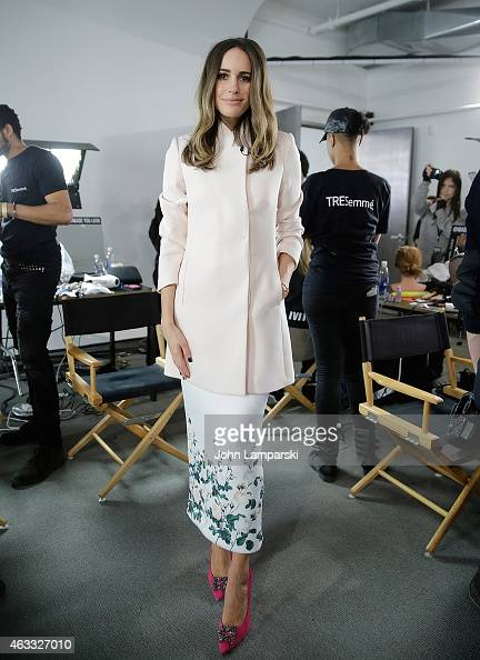 Louise Roe attends Marissa Webb show during MADE Fashion Week Fall 2015 at Milk Studios on February 12 2015 in New York City
