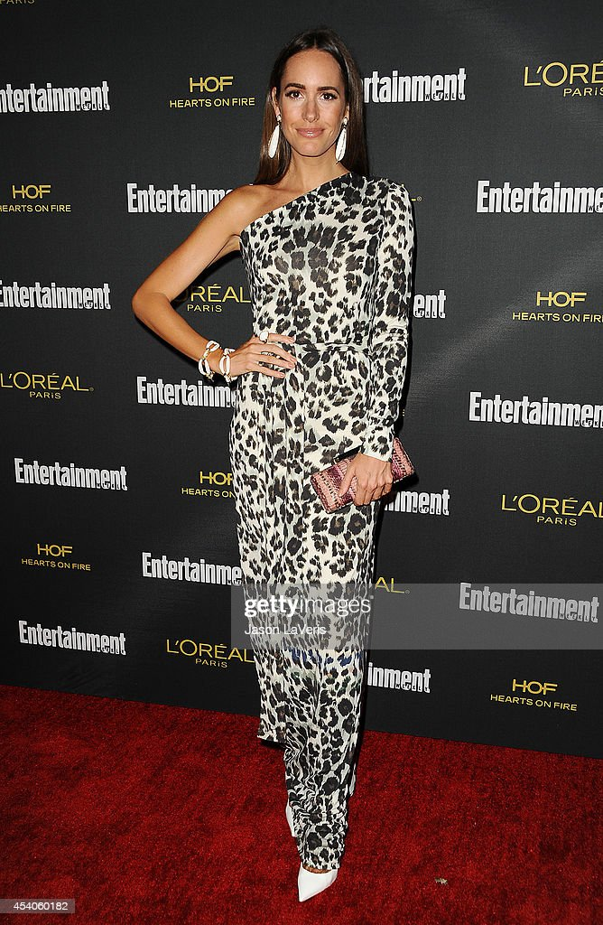 Louise Roe attends the 2014 Entertainment Weekly preEmmy party at Fig Olive Melrose Place on August 23 2014 in West Hollywood California