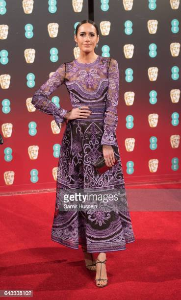 Louise Roe attends the 70th EE British Academy Film Awards at Royal Albert Hall on February 12 2017 in London England