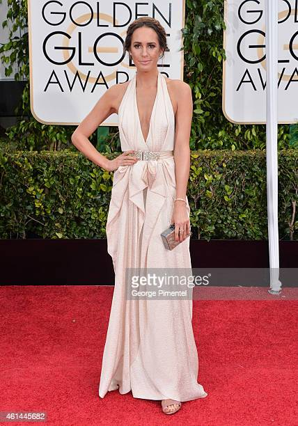 Louise Roe attends the 72nd Annual Golden Globe Awards at The Beverly Hilton Hotel on January 11 2015 in Beverly Hills California