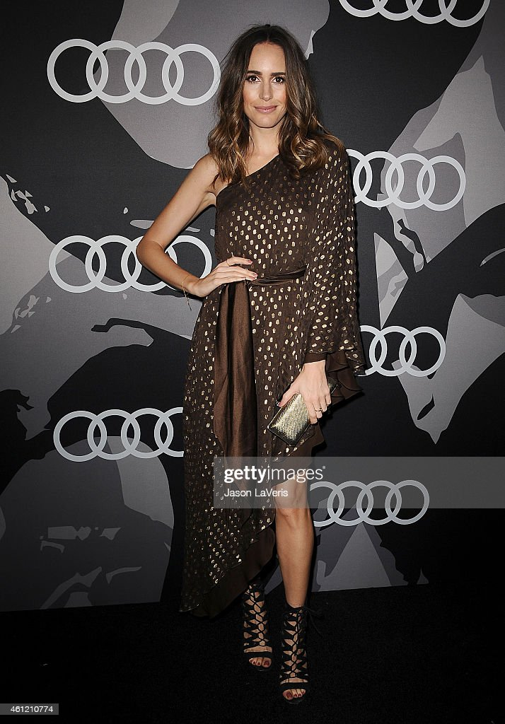 Louise Roe attends the Audi Golden Globe week celebration at Cecconi's Restaurant on January 8 2015 in Los Angeles California