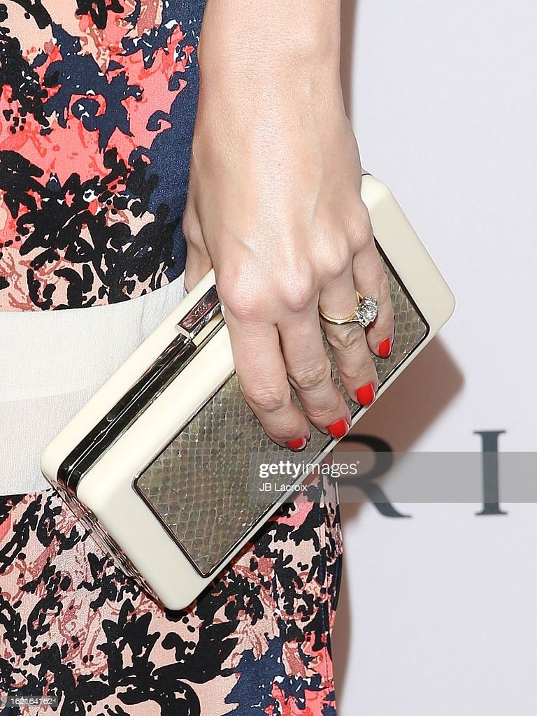 Louise Roe attends the BVLGARI celebration of Elizabeth Taylor's collection of BVLGARI jewelry at Bvlgari Beverly Hills on February 19, 2013 in Beverly Hills, California.