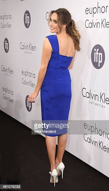 Louise Roe attends the Calvin Klein Party at the 67th Annual Cannes Film Festival on May 15 2014 in Cannes France