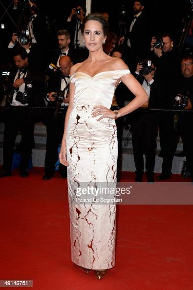 Louise Roe attends the 'Captives' premiere during the 67th Annual Cannes Film Festival on May 16 2014 in Cannes France