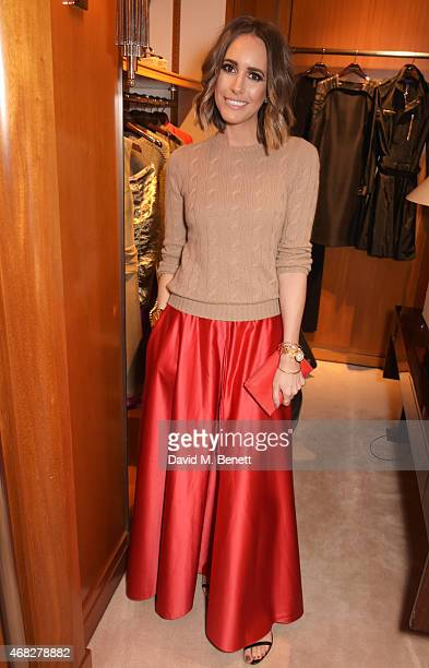Louise Roe attends the launch of new book 'Front Roe How To Be The Leading Lady In Your Own Life' By Louise Roe at Ralph Lauren New Bond Street on...