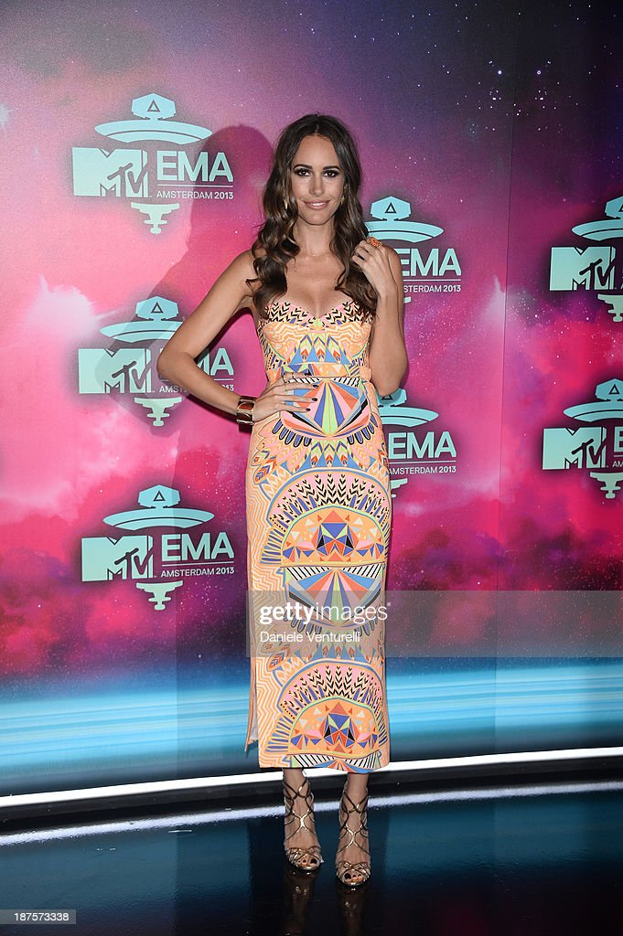 Louise Roe attends the MTV EMA's 2013 at Ziggo Dome on November 10, 2013 in Amsterdam, Netherlands.