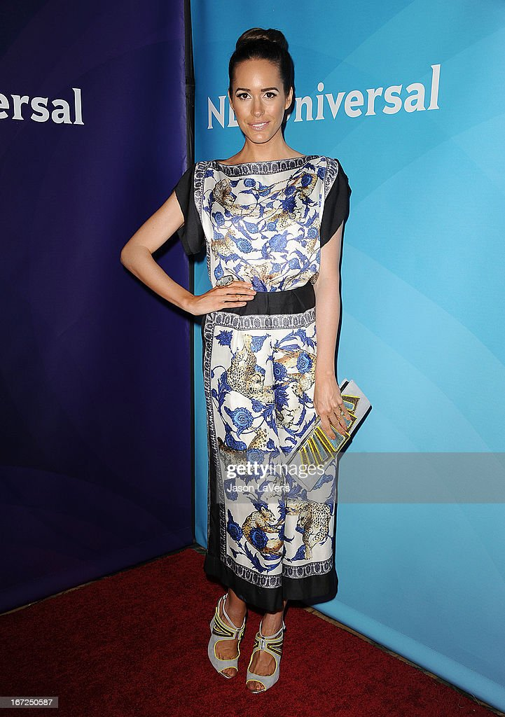 Louise Roe attends the NBCUniversal summer press day at The Langham Huntington Hotel and Spa on April 22, 2013 in Pasadena, California.