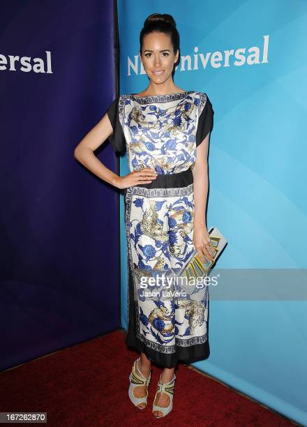 Louise Roe attends the NBCUniversal summer press day at The Langham Huntington Hotel and Spa on April 22 2013 in Pasadena California