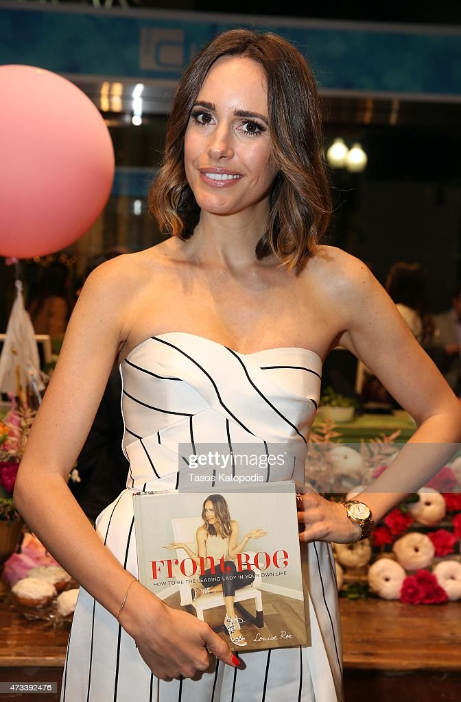 Louise Roe attends the Westfield FashBash on May 14 2015 in Chicago Illinois