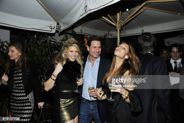 Louise Tabbiner Chris Gunther Monica Mange attend NICOLAS BERGGRUEN's 2010 Annual Party at the Chateau Marmont on March 3 2010 in West Hollywood...