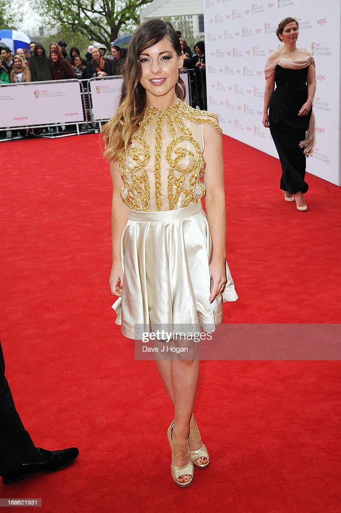 Louise Thompson attends the BAFTA TV Awards 2013 at The Royal Festival Hall on May 12, 2013 in London, England.