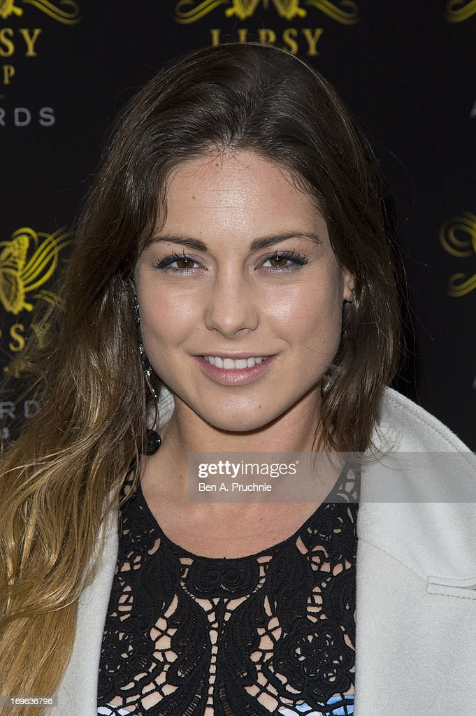 Louise Thompson attends the Lipsy VIP Fashion Awards 2013 at Dstrkt on May 29, 2013 in London, England.