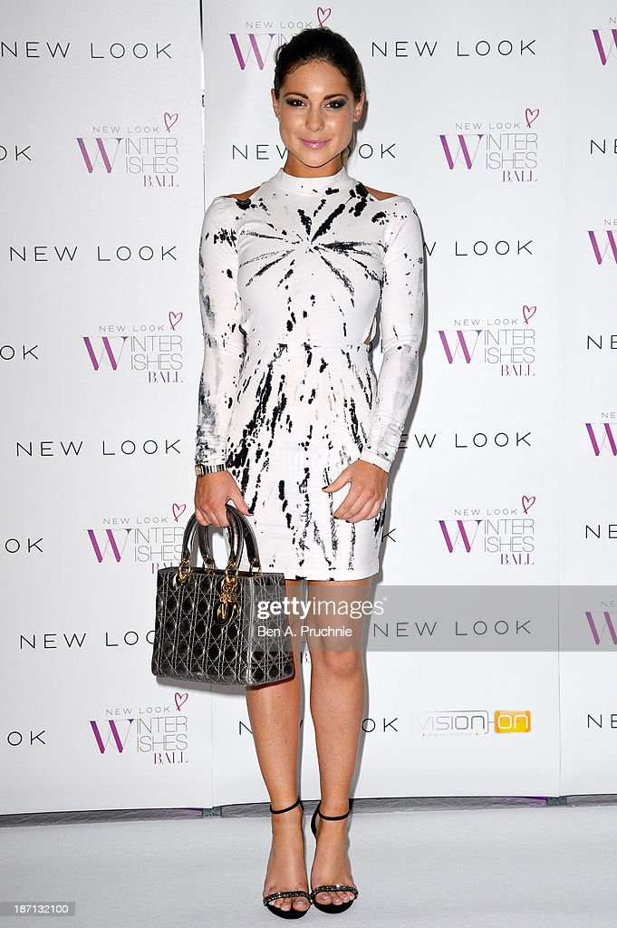 Louise Thompson attends the New Look Winter Wishes Charity Ball at Battersea Evolution on November 6, 2013 in London, England.