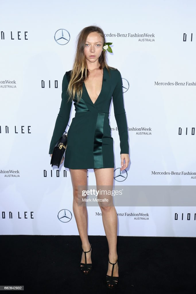 Mercedes-Benz Presents Dion Lee - Arrivals - Mercedes-Benz Fashion Week Australia 2017