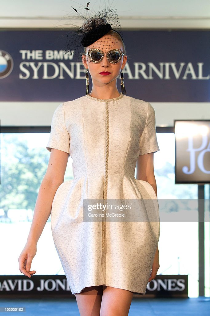 Louise Van Der Vorst at the BMW Sydney Carnival launch at Centennial Park on March 12, 2013 in Sydney, Australia.