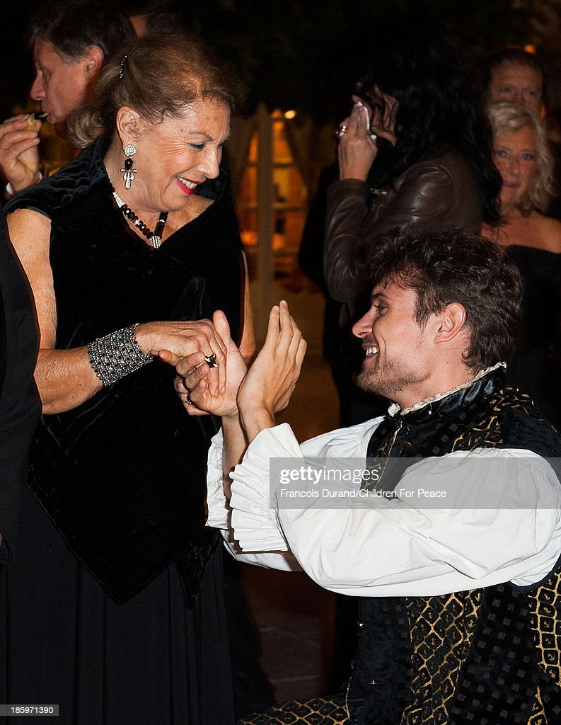 Louisette Azzoaglio attends the 'Opera Romeo and Juliette' : Gala to the benefit of the The Children for Peace association, on October 26, 2013 in Monte-Carlo, Monaco.