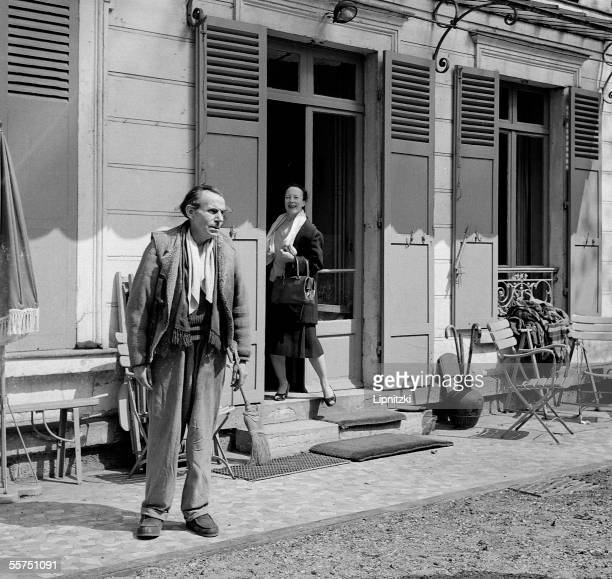 LouisFerdinand Celine and his wife Meudon about 1955 LIP5097024