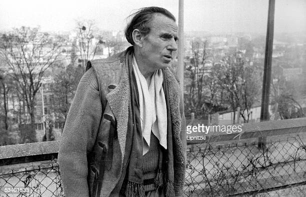 LouisFerdinand Celine French writer in Meudon 19551956 LIP5097146