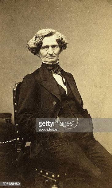LouisHector Berlioz french composer Ca 1860