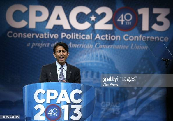 Louisiana Governor Bobby Jindal delivers remarks during the second day of the 40th annual Conservative Political Action Conference March 15 2013 in...