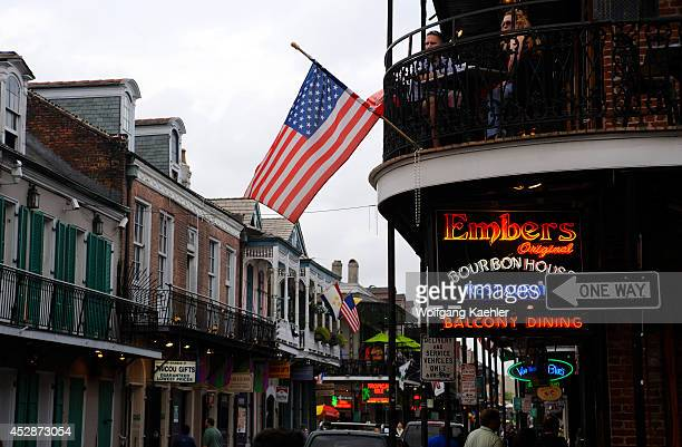 USA Louisiana New Orleans French Quarter Bourbon Street