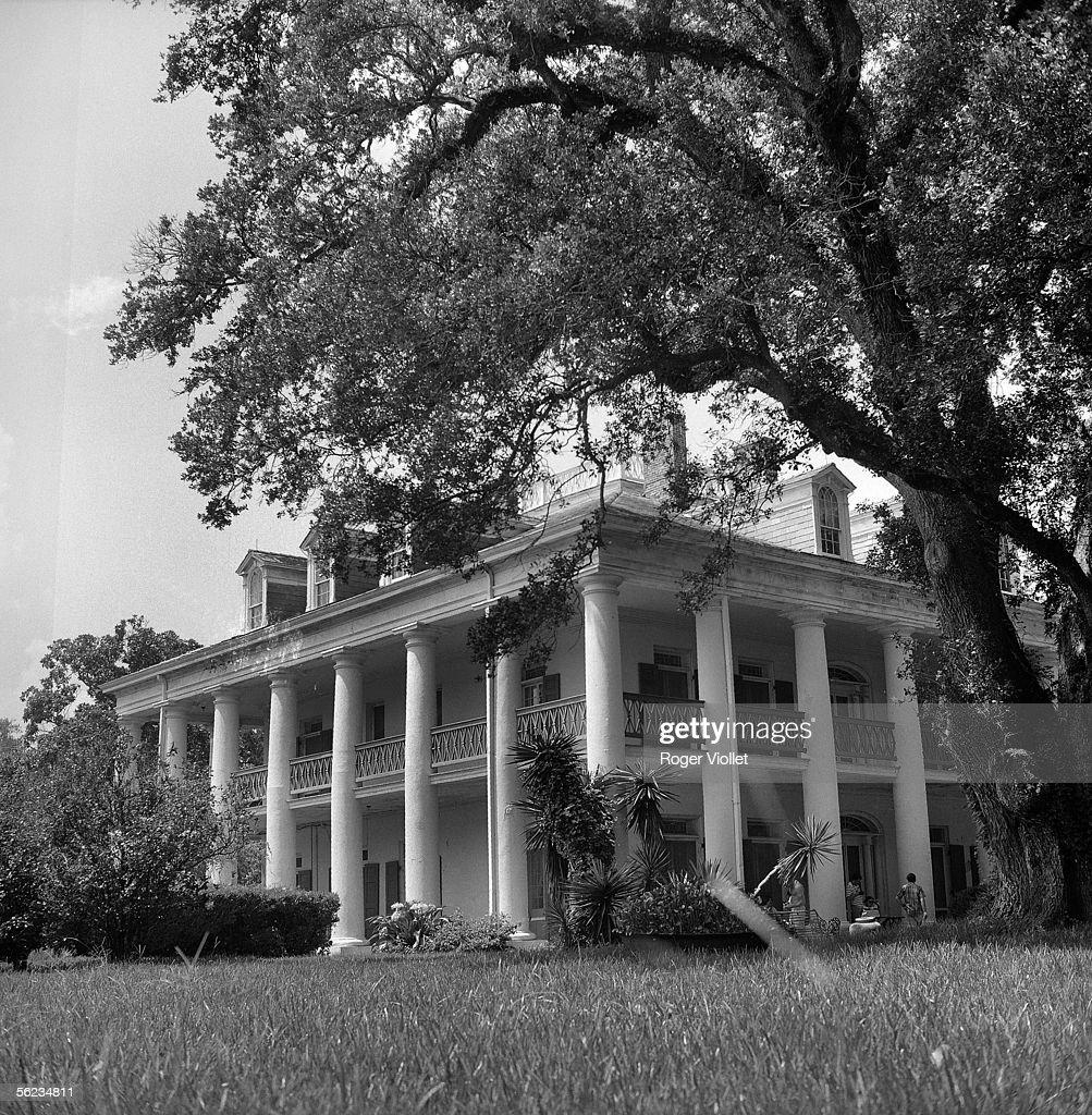 Louisiana 'Oak Alley' propriety built in 18361839