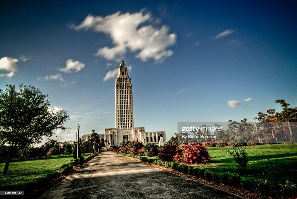 Louisiana State Capital : Stock Photo