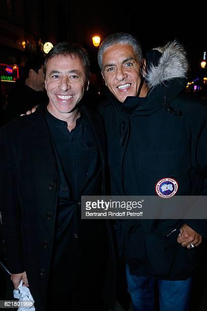 LouisMichel Colla and actor Samy Naceri attend LouisMichel Colla the Director of the 'Theatre de la Gaite Montparnasse' Celebrates his 60th...