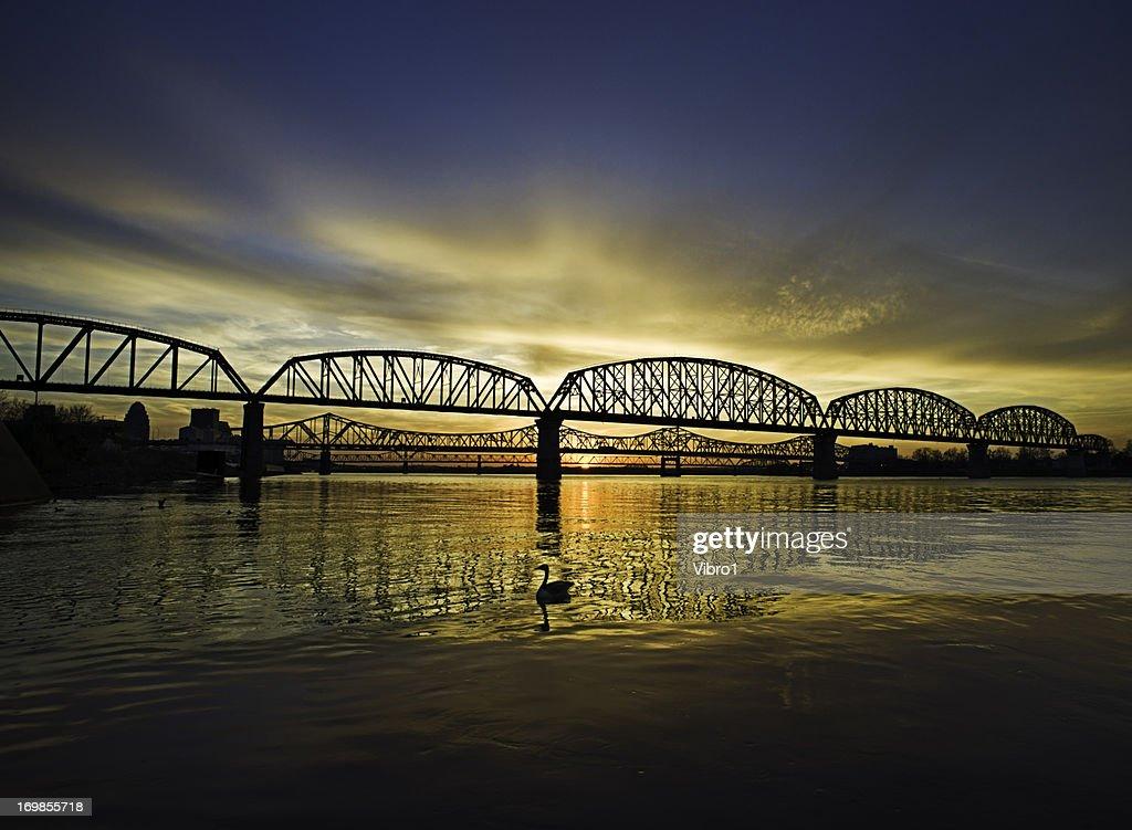 Louisville Bridges, Ohio River