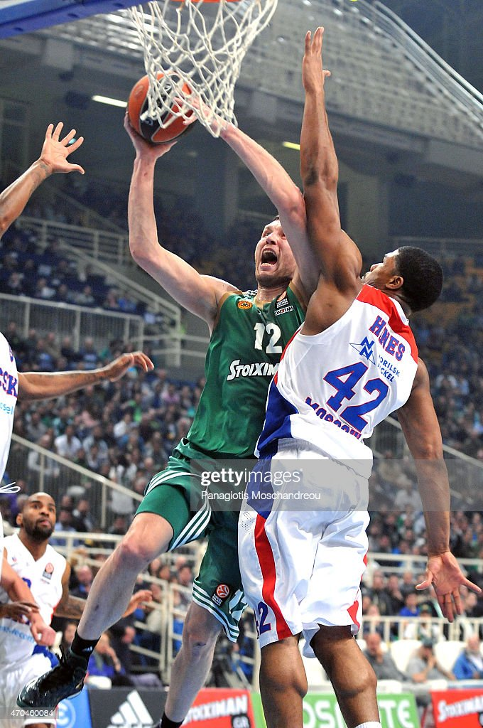 Panathinaikos Athens v CSKA Moscow - Turkish Airlines Euroleague Play Off