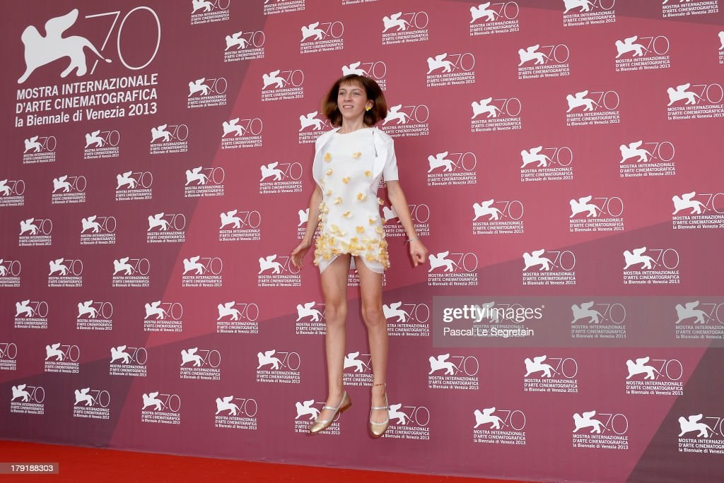 Lou-Lélia Demerliac attends 'Je M'Appelle Hmmm...' Photocall during the 70th Venice International Film Festival at the Palazzo Del Casino on September 1, 2013 in Venice, Italy.