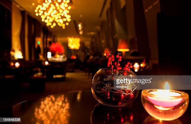 Lounge im Luxushotel in Peking, China