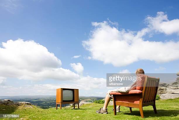 Lounge auf dem Hügel