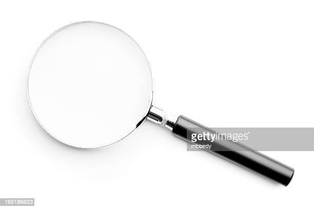 Loupe, isolated on white background