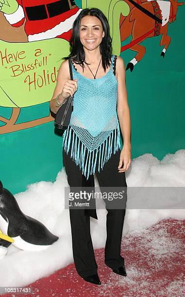 Lourdes Colon during Hugh Hefner's Christmas Party at Club Bliss in Hollywood California United States