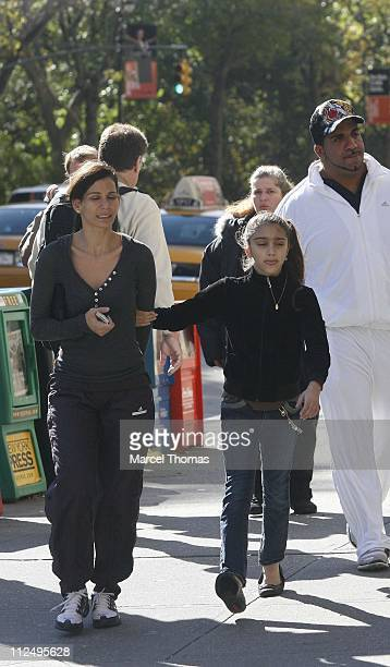 Lourdes Leon during Madonna's Children Shop for Halloween Costumes October 30 2006 in New York City New York United States