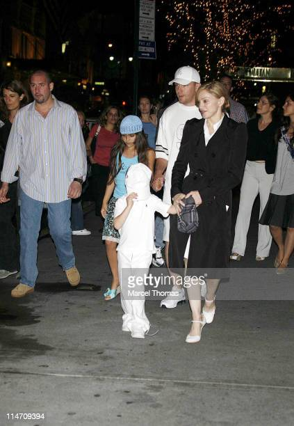 Lourdes Leon Rocco Ritchie Guy Ritchie and Madonna