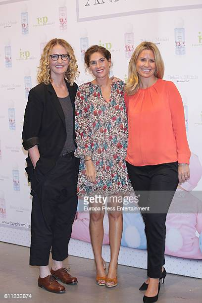 Lourdes Montes and Anne Geddes present 'Bebes Mamas' Fragrances at Espacio Las Aguas on September 28 2016 in Madrid Spain