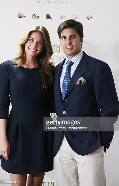 Lourdes Montes and Fran Rivera attend 'Ferrero Golden Gallery' presentation on October 8 2014 in Madrid Spain