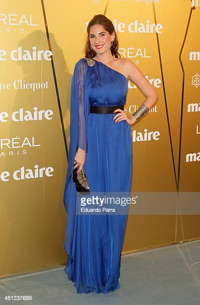 Lourdes Montes attends 'Marie Claire Prix de la moda' awards 2013 photocall at Residence of France on November 21 2013 in Madrid Spain