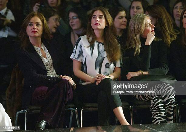 Lourdes Montes attends the first day of the International Flamenco Fashion Show SIMOF 2015 at Palacio de Congresos on February 5 2015 in Seville Spain