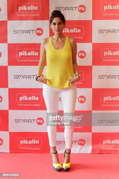 Lourdes Montes attends the 'Smart PK by Pikolin' photocall at La Casa del Lector on June 21 2017 in Madrid Spain