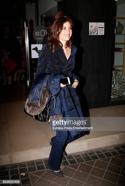 Lourdes Montes is seen on February 1 2017 in Madrid Spain