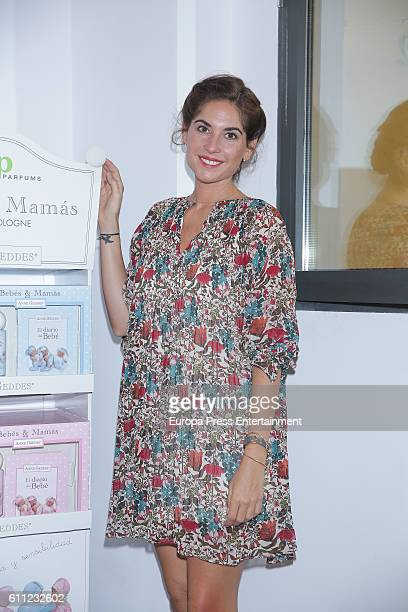 Lourdes Montes presents 'Bebes Mamas' Fragrances at Espacio Las Aguas on September 28 2016 in Madrid Spain