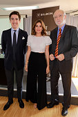 ESP: Lourdes Montes Presents The New Charity Initiative For 'Fundacion Vicente Ferrer And Silbon'