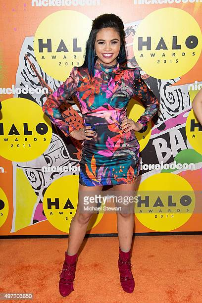 Louriza Tronco attends the 2015 Halo Awards at Pier 36 on November 14 2015 in New York City